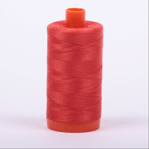 Aurifil Cotton Mako' 50 - 2277 - Red Orange