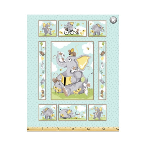 Susybee Panel - Knightley the Elephant