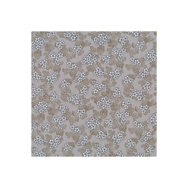 Quilters Basic - Floral Clusters - Taupe