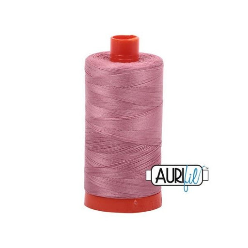 Aurifil Cotton Mako' 50 - 2445 - Victorian Rose