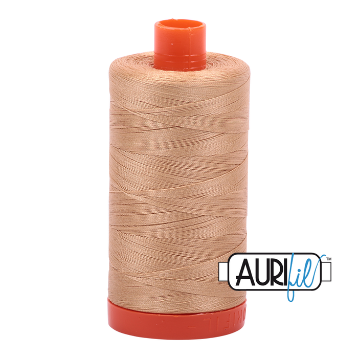 Aurifil Cotton Mako' 50 - 2318 - Tan