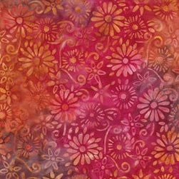 BeColourful Batik - Brilliant Autumn Flowers