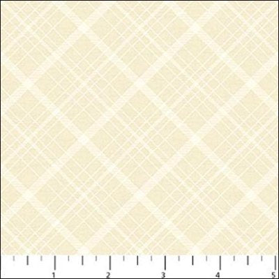 Vintage Travel - Cream Diagonals