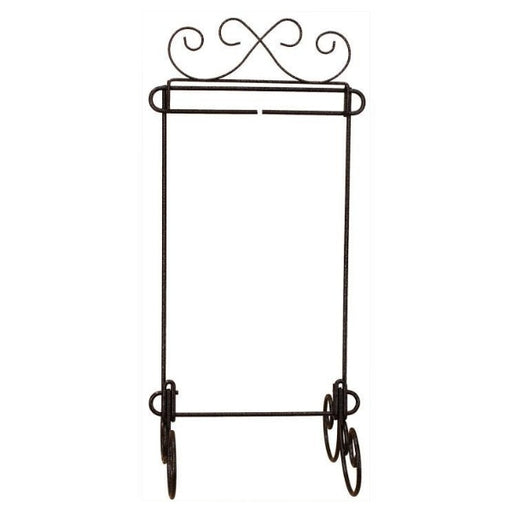 "Table Stand - 6"" x 12"" Scroll with Header"