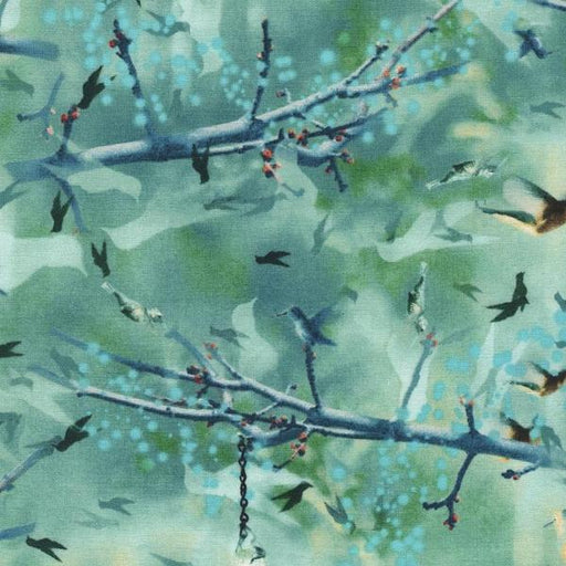 Wildflower Hummingbirds - Jade