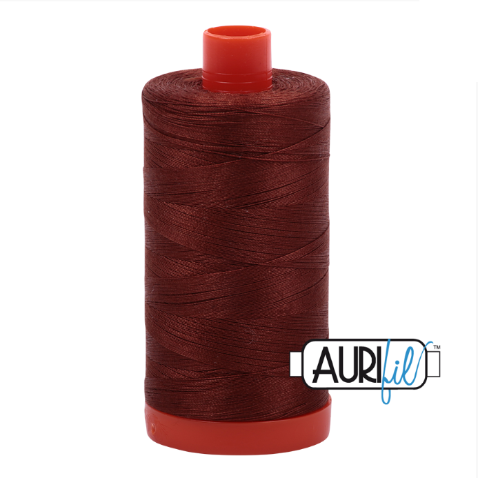 Aurifil Cotton Mako' 50 - 4012 - Copper Brown