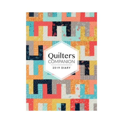 Quilters Companion - 2019 Diary