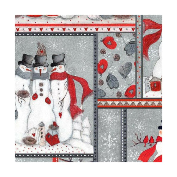 Seasons Greetings 2016 Snowman Patch