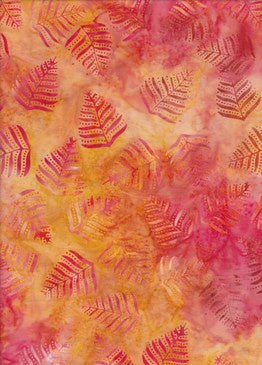 BeColourful Batik - Pink Fern