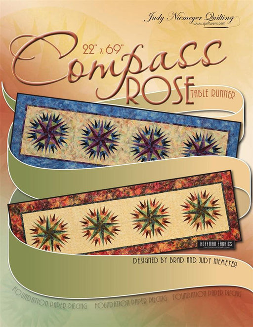 Compass Rose Table Runner Pattern