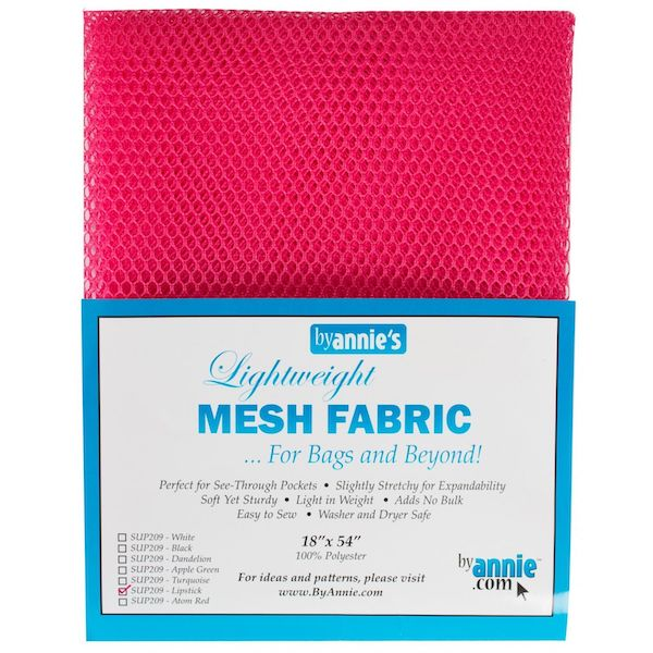Mesh Fabric - Lightweight - Lipstick