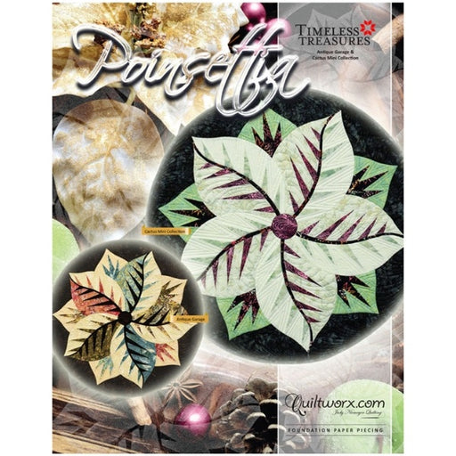 Poinsettia Table Topper Pattern