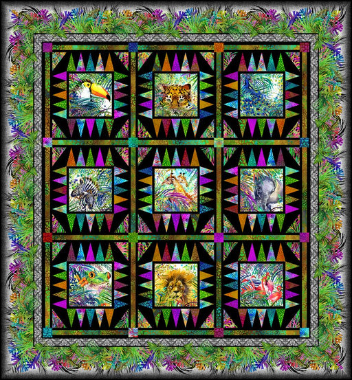 Safari Quilt Kit