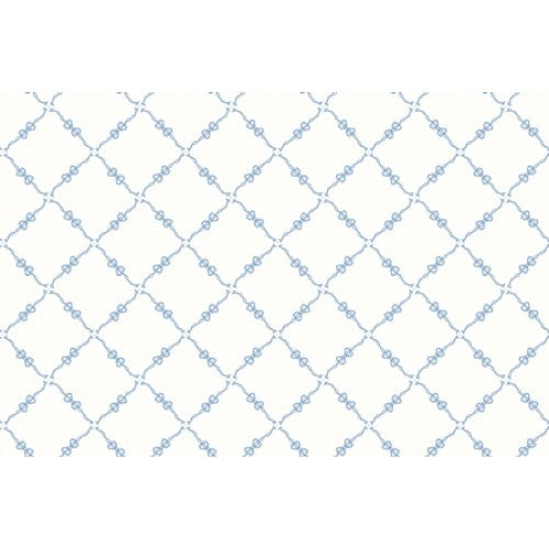Fancywork Box - Blue Lattice