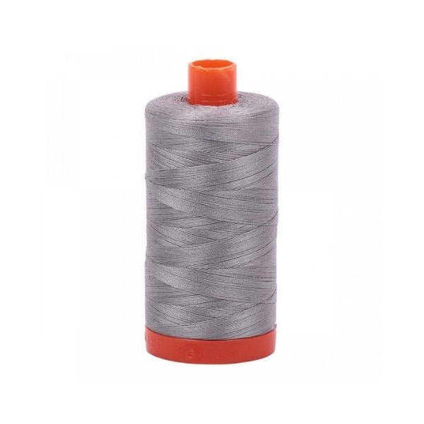 Aurifil Cotton Mako' 50 - 2620 - Stainless Steel