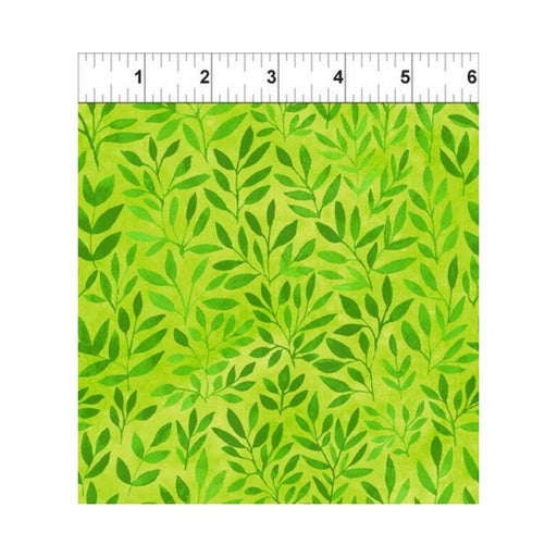 Floral Menagerie - Leaves - Green