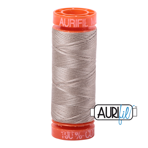Aurifil Cotton Mako' 50 - 5011 - Rope Beige 200m