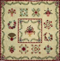 Baltimore Garden Quilt Pattern