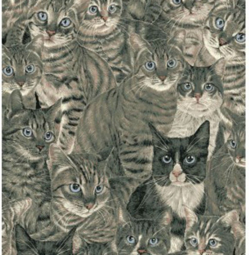 Cats The Way I Like It - Light Grey