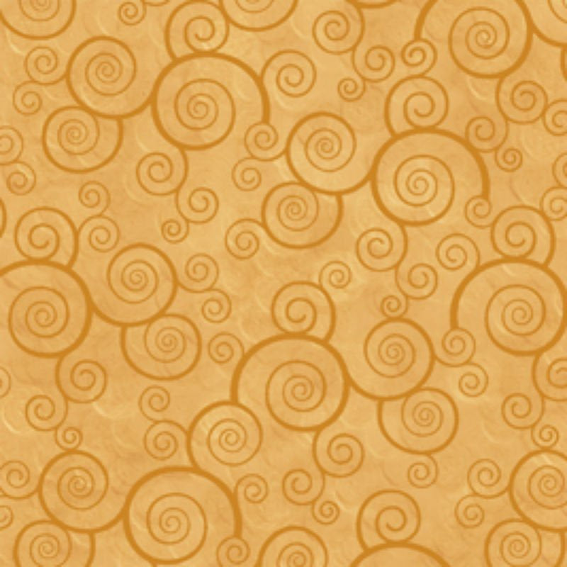 Harmony - Curly Scroll - Honey
