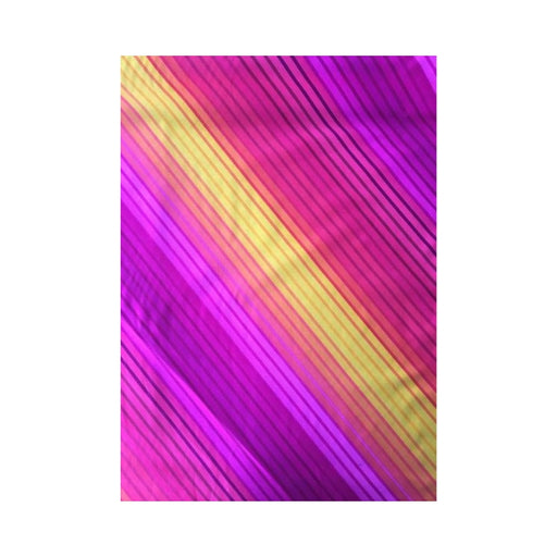 Bright Ideas - Diagonal Stripe - Pink + Orange