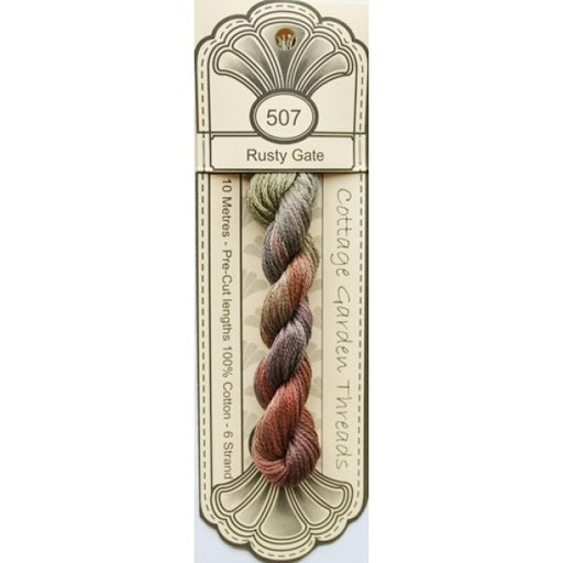 Cottage Garden Threads - 507 - Rusty Gate