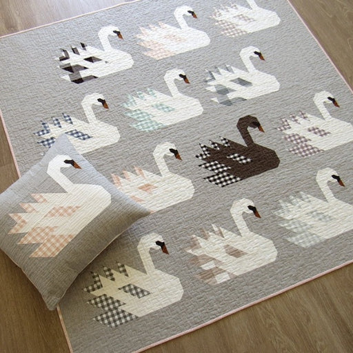 Swan Island Quilt + Pillow Pattern
