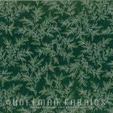 Hoffman Christmas - Green Leaves