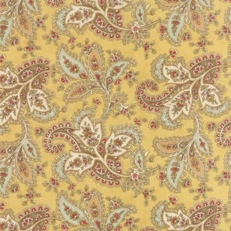 Larkspur Floral Paisley Straw