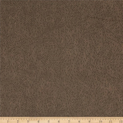Flannel - Seacoast Brown 280cm wide
