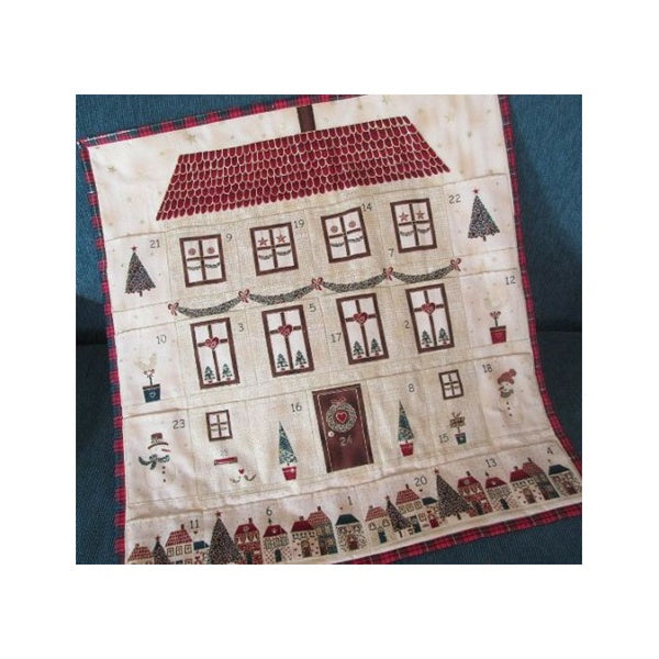 Christmas House Advent Panel