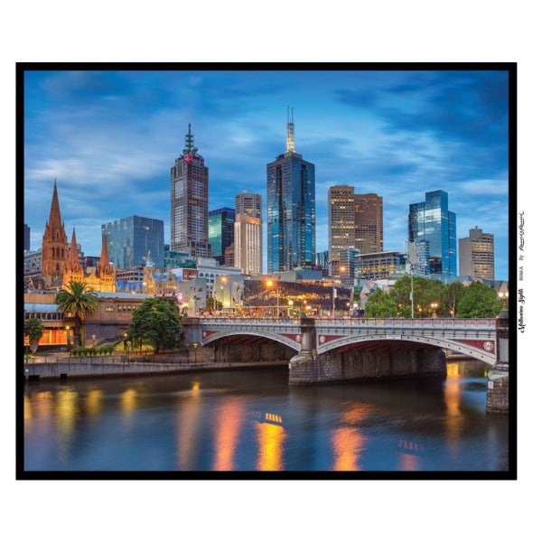 PRE-ORDER - Melbourne Sights - City Panel
