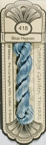 Cottage Garden Threads - 418 - Blue Heaven