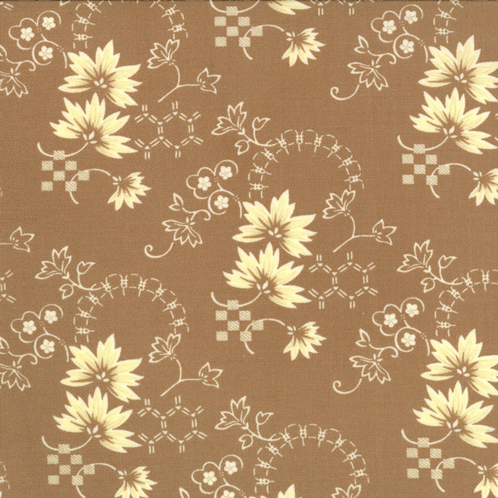 Tapestry - Leaves - Taupe
