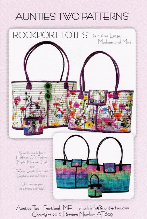 Rockport Tote Pattern