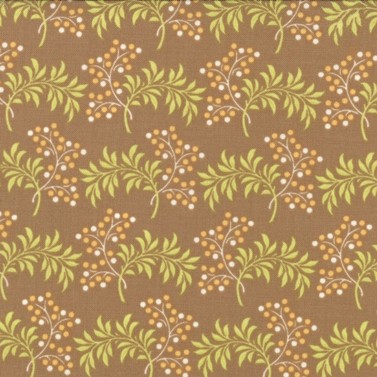 Tapestry - Berries - Taupe