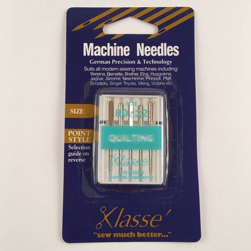 Klasse Machine Needles - Quilting