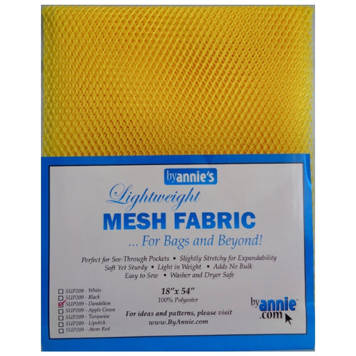 Mesh Fabric - Lightweight - Dandelion