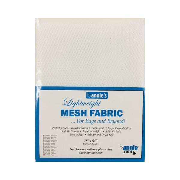 Mesh Fabric Lightweight White