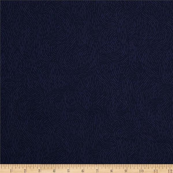 Flannel - Seacoast Navy 280cm wide