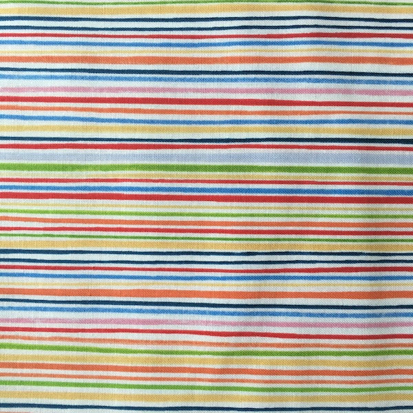 What a World - Pin Stripe - Multi