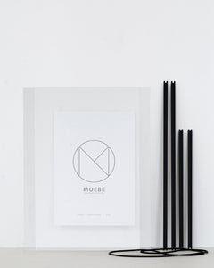 Moebe Picture Frames Black