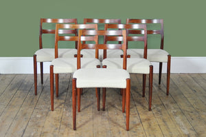 Set of Six Johannes Anderson Dining Chairs