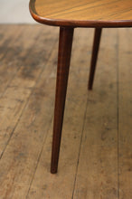 Rosewood Tripod Coffee Table