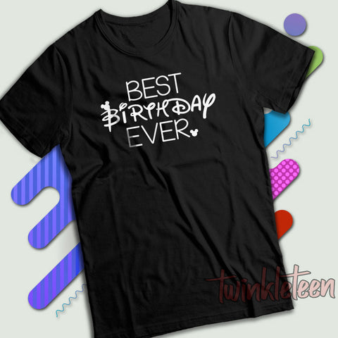 be48c1936 Best Birthday Ever Disney Mickey Mouse Men S T Shirt