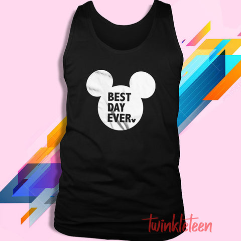 22c41a4754373 Best Day Ever Mickey Mouse Men S Tank Top