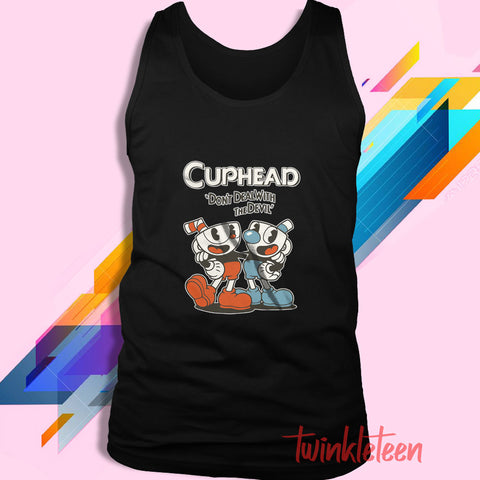 d23f210a9 Cuphead Mugman Don'T Deal With The Devil Men'S ...