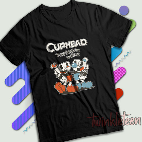 68551859a Cuphead Mugman Don'T Deal With The Devil Men'S ...