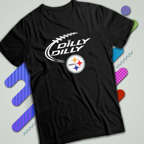 90734db0c Dilly Dilly Pittsburgh Steelers Logo Men S T Shirt