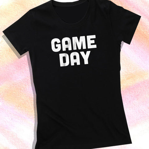 Game Day New England Patriots Playoffs Atlanta The Gameday Chic Falcons  Gameday Football Women S T Shirt b1a97d2e6